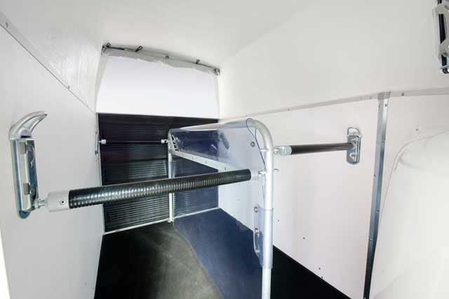 Adjustable Stall Bars & PVC Wall Partition